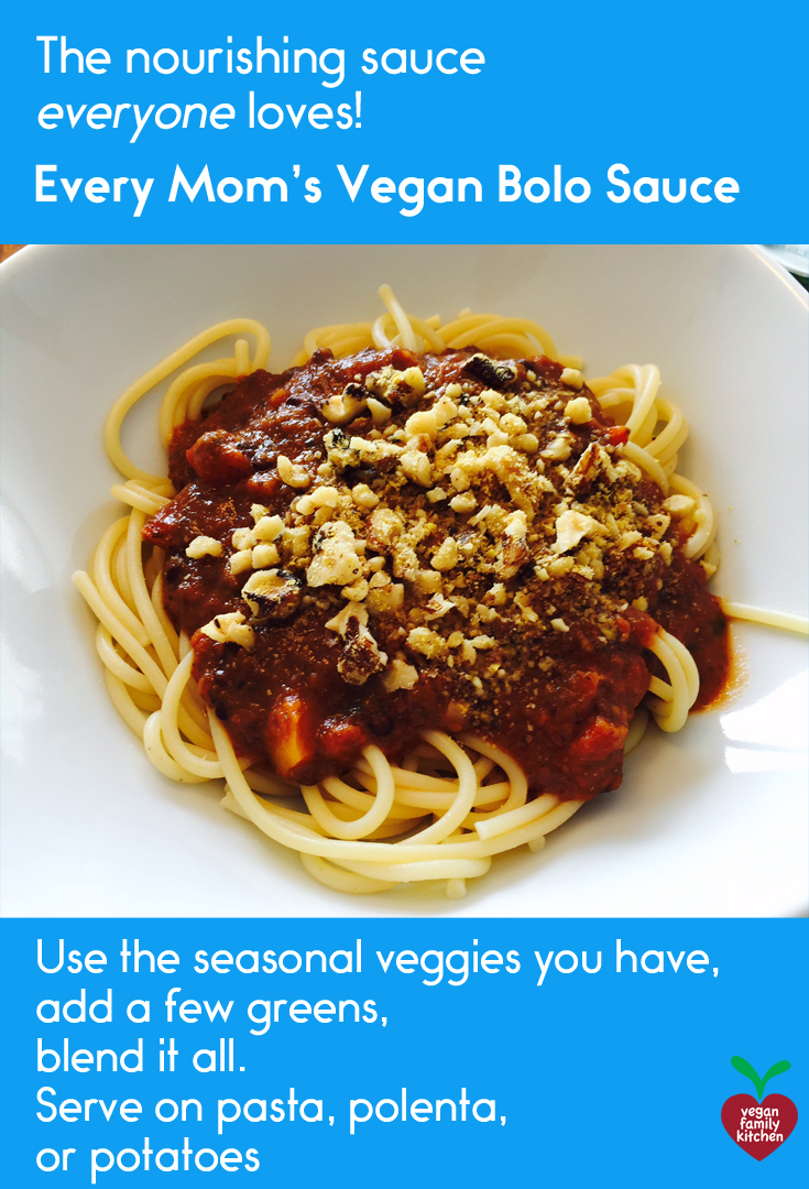 Vegan bolognese sauce for pinterest