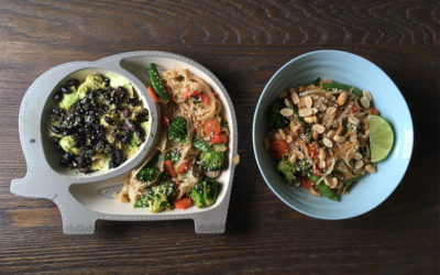 Mama Food, Toddler Food: What's on the table of nutrition practitioner and plant-based mom Laura Ashbaugh