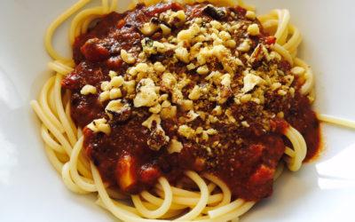 Vegan Bolognese Sauce: Every Mom's Bolo