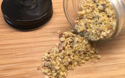 Vegan parm nuts: it tops it all!