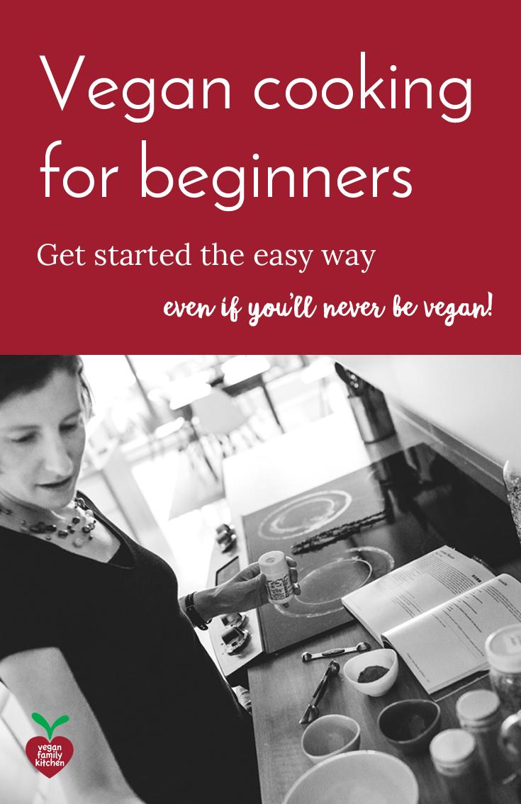 Vegan cooking for beginners Pinterest