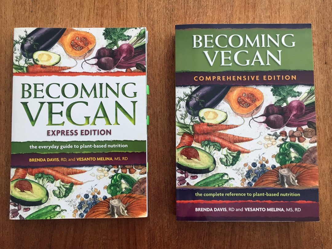 Becoming Vegan books
