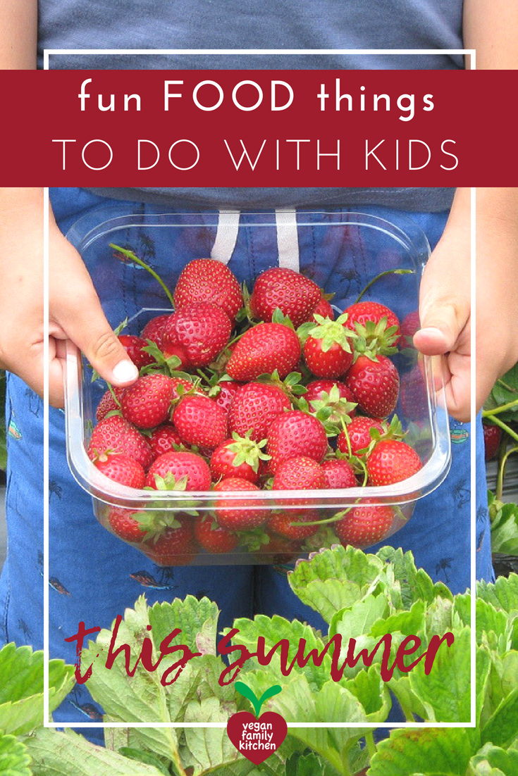 fun food things to do with kids this summer