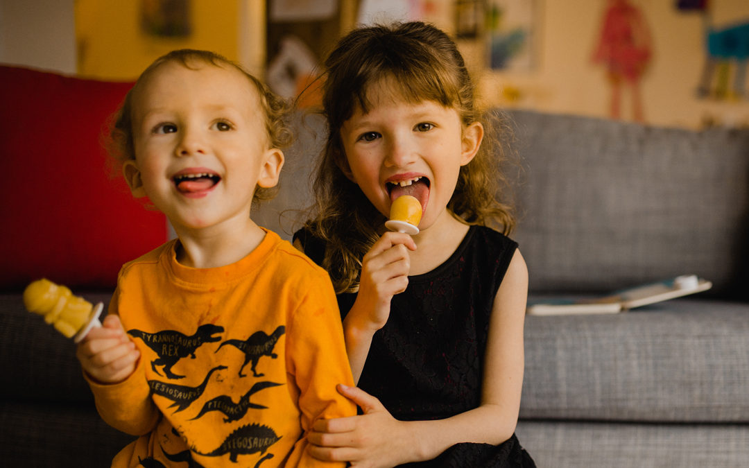 Amazingly healthy vegan ice pops (that your kids will LOVE)