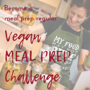 Vegan meal prep challenge