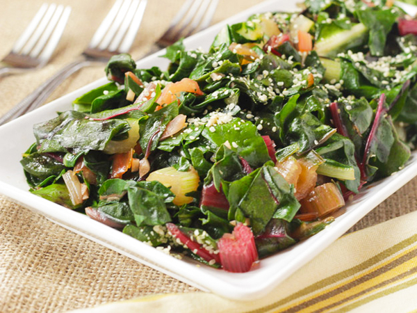 How to eat more greens - Plant-Based Cooking's Sauteed greens