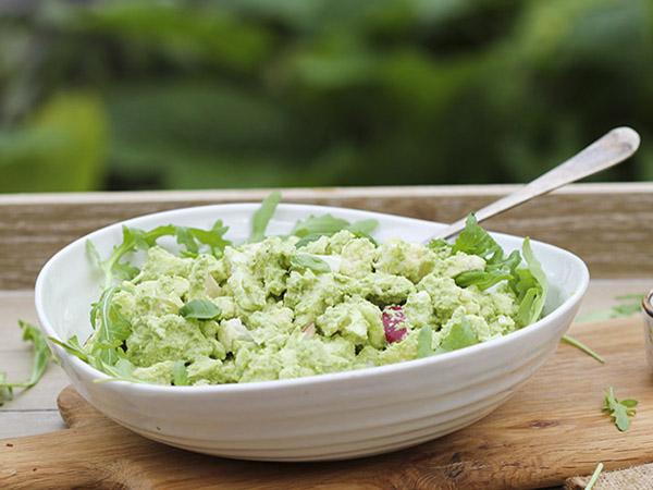 How to eat more greens - Trinity's kitchen's Vegan Cashew Lime Pesto