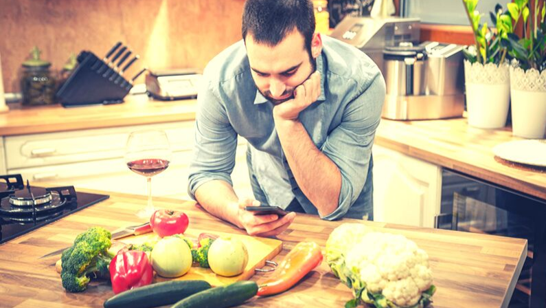 Mindful screen-free cooking: the pathway to becoming a better, faster cook