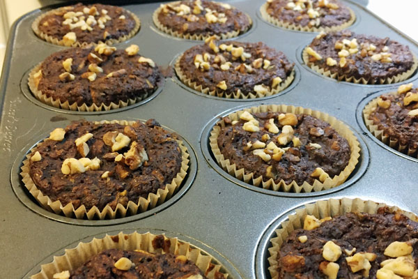 Vegan Batch Cooking Club - Muffins make a great addition