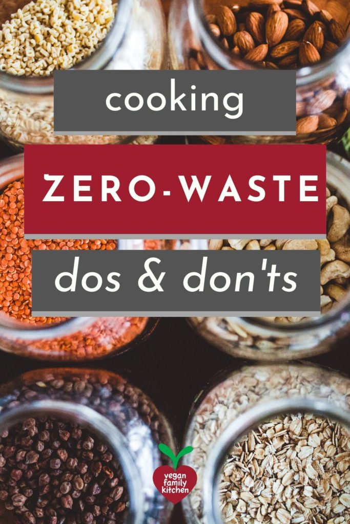 Zero-waste cooking dos and don'ts for vegans - Pinterest
