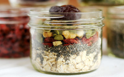 Vegan overnight oats batch prep: make them your way!