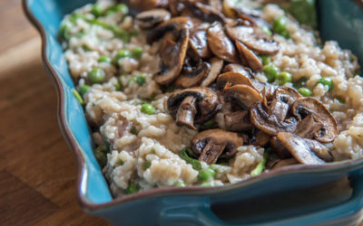 How to make vegan risotto in the oven: method, recipe, and variations