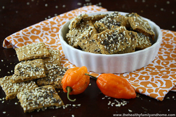 Should I buy a dehydrator - Vegan - Healthy Family and Home Raw Habanero Pepper Crackers