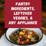 How to make vegan soup: A tutorial (and my rustic bean soup recipe)