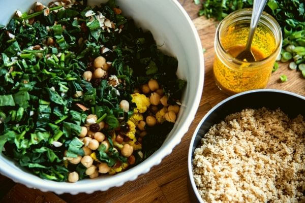 How to make satisfying vegan salads