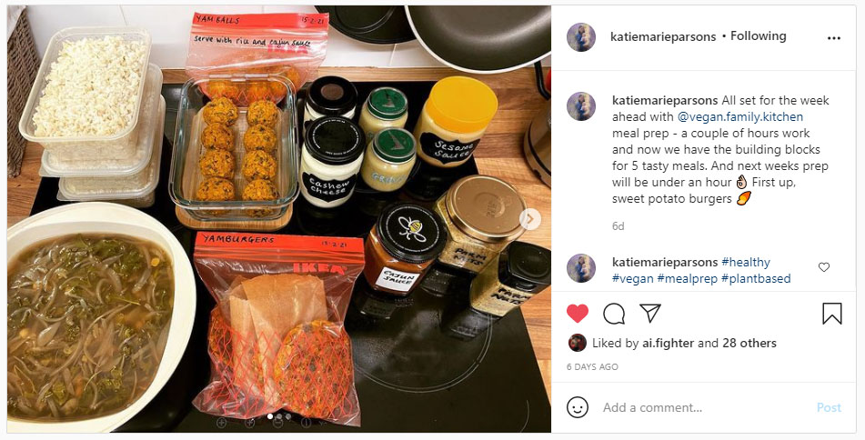 Vegan meal prep for health - Katie heals her gut - She's a prep wizard!