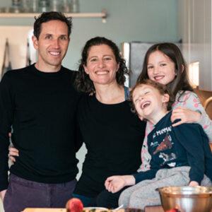 Vegan meal plans - Brigitte and her family