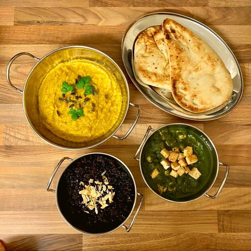 Vegan meal plans - Feast of curries