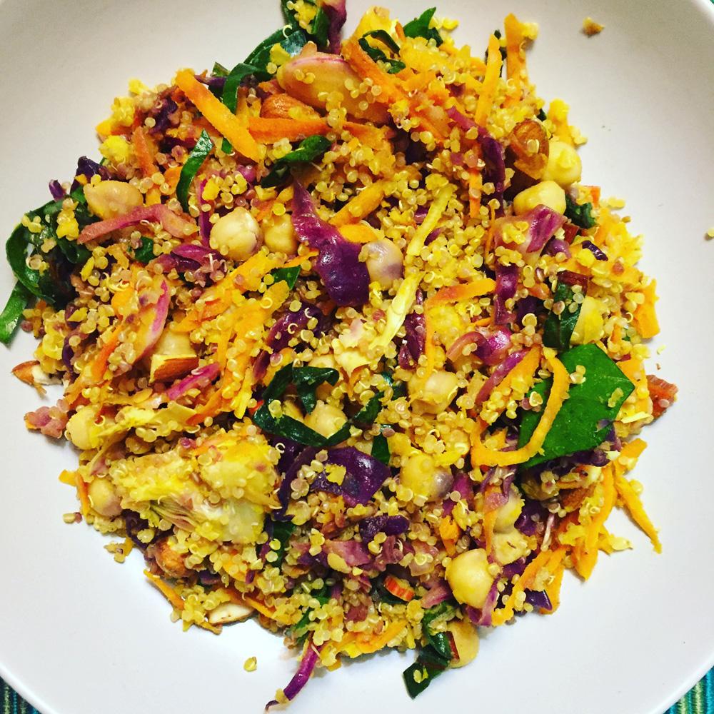 Vegan meal plans - Quinoa salad