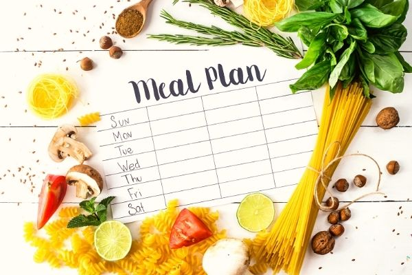 Eco-friendly eating habits: plan your meals