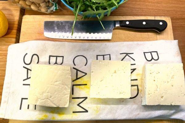 How to make tofu scramble - Medium tofu is my favorite