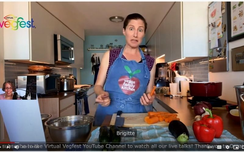 Quick vegan meal prep - Cooking Demo on Virtual VegFest