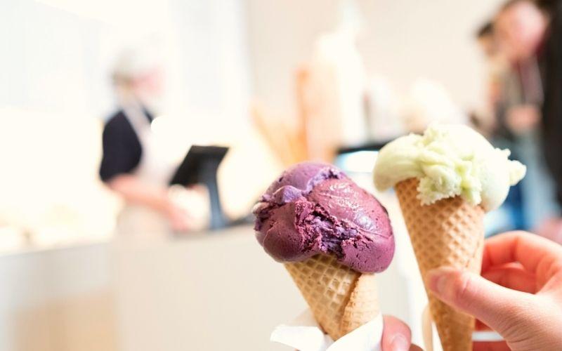 Vegan ice cream - wife is going vegan